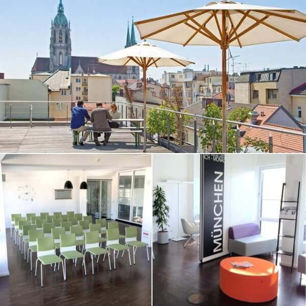 conference room and meeting room in Munich and Dusseldorf allynet