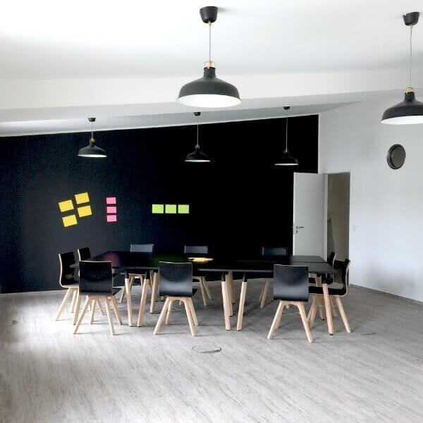 Loftige Meetingräume Düsseldorf Innenstadt allynet