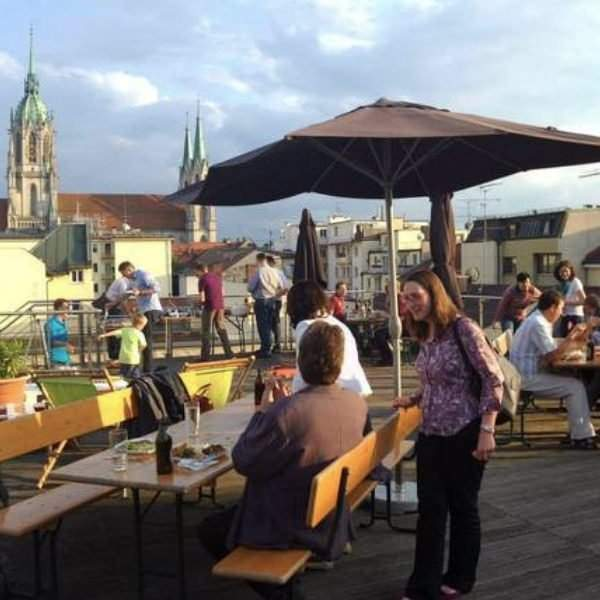 Meeting room with roof terrace Munich allynet