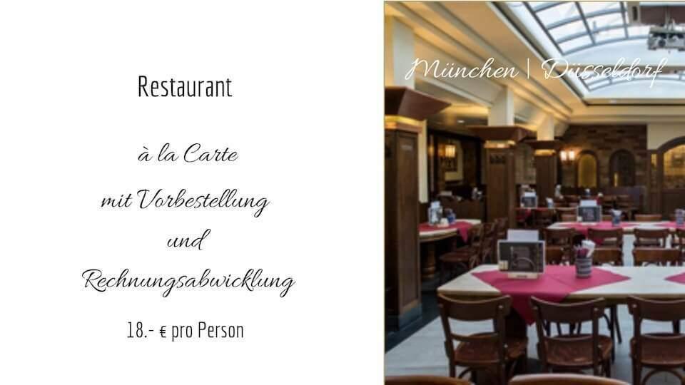 Restaurantkooperation Düsseldorf und München | allynet