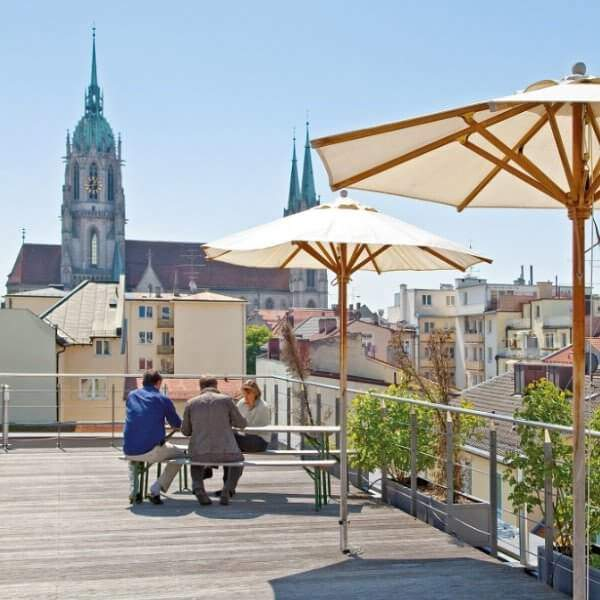 Seminarraum mit Dachterrasse in München mieten - allynet