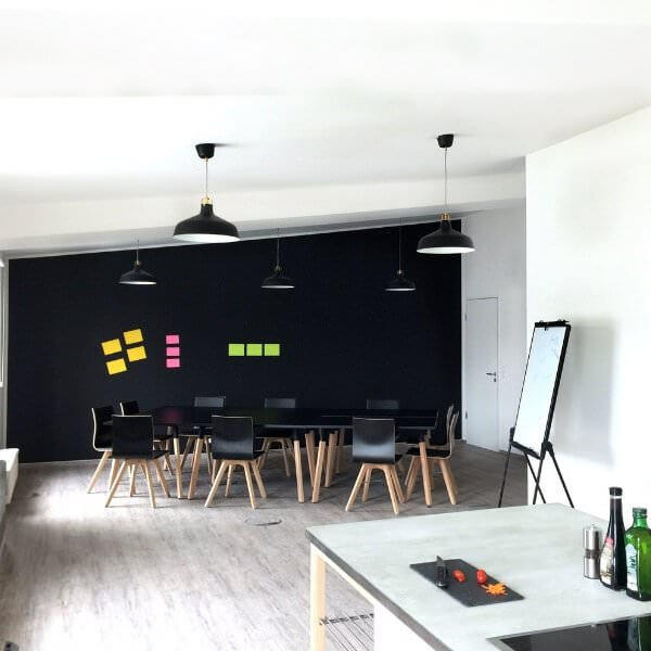 Perfekte Eventlocation für Design Thinking Workshops