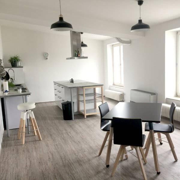 Seminarraum mit Küche mieten Düsseldorf - allynet