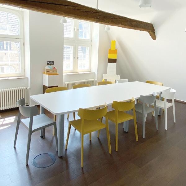 Kreativen Meetingraum in Düsseldorf city mieten